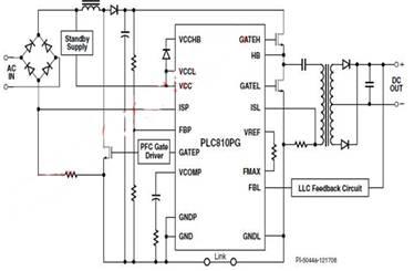 lcd电视机电源应用电路
